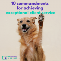 10 Commandments For Achieving Exceptional Client Service Red