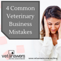 4 Common Veterinary Business Mistakes Red