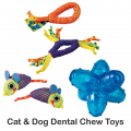 Cat Dog Dental Chew Toys 2