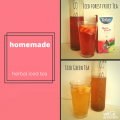 For The Times When Water Just Doesnt Cut It Homemade Iced Herbal Tea