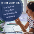 Social Media 101 Managing Negative Comments And Reviews Red