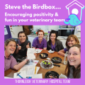 Steve The Birdbox Encouraging Positivity Fun In Your Veterinary Team 2